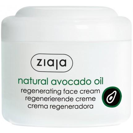 Обновувачка крема за лице со масло од авокадо